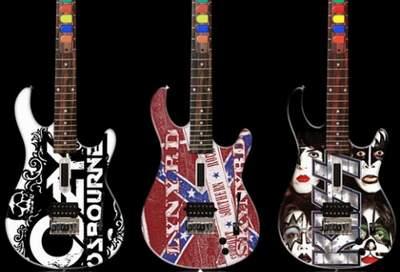 guitar hero custom painted مناسب ترین ساز، مناسب ترین هزینه