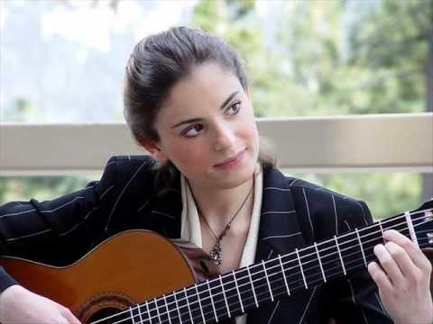 hqdefault آنا ویدویک نوازنده برجسته گیتار کلاسیک