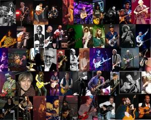 Great guitarist montage 300x240 صد گیتاریست برتر جهان از نظر مجله رولینگ استون